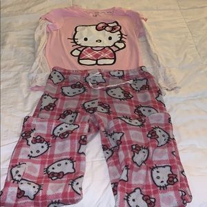 Hello kitty pjs